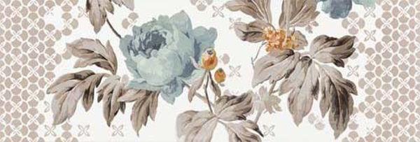 Снимка на Декор комплект Фаенца цветя синя 4779