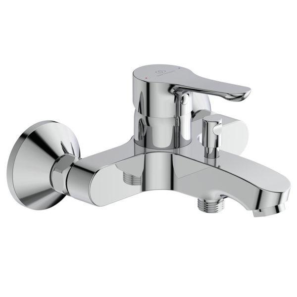 Снимка на BC654AA ALPHA смесител стенен за вана/душ без аксесоари
