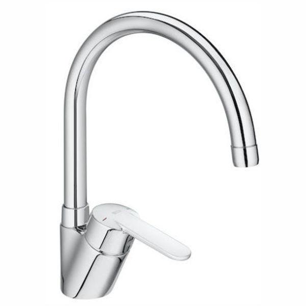 Снимка на A5A8E25C00 VICTORIA-N  Смесител за кухненска мивка с въртящ чучур