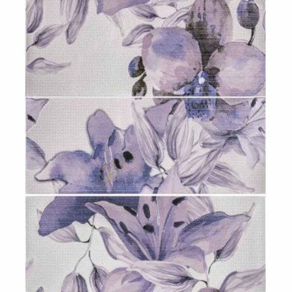 Снимка на Декор 50/60 Виола цветя лилава 24621