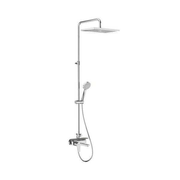 Снимка на A5A9C90C00 Even-M колона вана-душ с квадратна душ глава